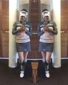 ユ・ソヨン - Instagram写真(インスタグラム)「Loved my outfit for 2nd round of @evianchamp 💕