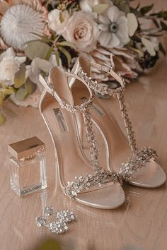 INC Beaded Open Toe Wedding Shoes with Bridal Accessories and Blush Pink, White . - INC Beaded Open Toe Wedding Shoes with Bridal Accessories and Blush Pink, White Floral Anemone and - Wedding Shoes Bride, Bride Shoes, Prom Shoes, Wedding Ceremony, Blush Pink Wedding Shoes, Wedding Dresses, Wedding Rings, Wedding Cakes, Shoes For Brides