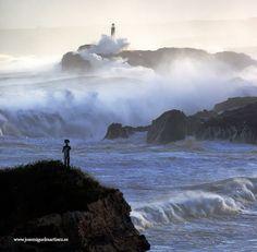 Faro de Mouro #Santander #Cantabria #Spain #Travel #Coast