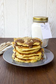 My blissfood: pancakes Waffles, Pancakes, School Lunch Box, Sweet Bread, Crepes, Food For Thought, Sweet Recipes, Biscuits, Brunch