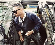 my boy #MiguelUnlimited looking fresh in leather pants!