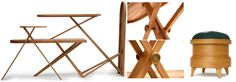 Iron Board Cabinet + Pin Stool by Kiki Van Eijk - http://www.archipanic.com/unconventional-cabinets/