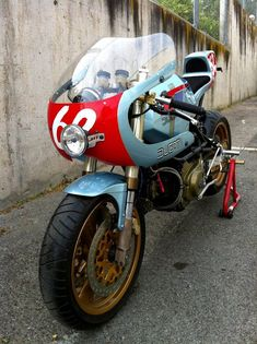 """Racing Cafè: Ducati Pantahstica"""" 2012 by Radical Ducati Ducati Cafe Racer, Ducati 750, Cafe Racers, Blueprint Engines, Ducati Pantah, 1000 Projects, Monster 1100, Cafe Racer Build, Cafe Style"""