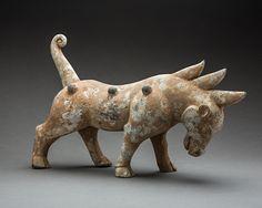 Han Terracotta Mythological Beast