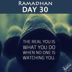 Ramadhan Day 30