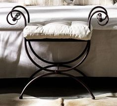 The House on Blackberry Hill Decor, Wrought Iron Decor, Wrought Iron Furniture, Metal Chairs, Iron Work, Metal Furniture, Wrought Iron Design, Home Decor, Steel Furniture