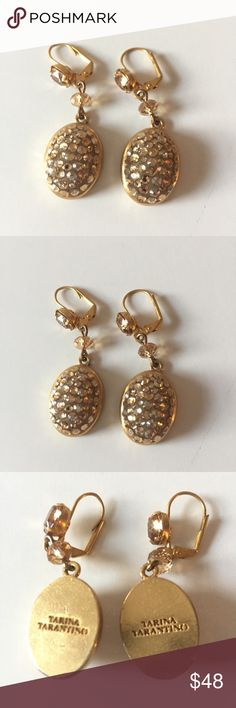 Tatiana Tarantino Swarovski Crystal Earrings in perfect condition 👌🏻 Jewelry Earrings