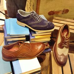 Look smart in a pair of Johnston Murphy oxfords and brogues #Menswear