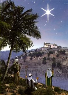 On their way to Bethlehem