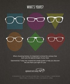 Full-page magazine ad design for Optometrists Today.