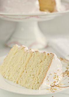 Snow White Vanilla Cake...apparently the best vanilla cake recipe out there.