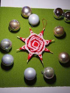 handmade christmas star ornament