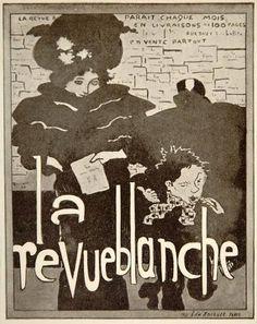 1913 La Revue Blanche Paris Pierre Bonnard Mini Poster
