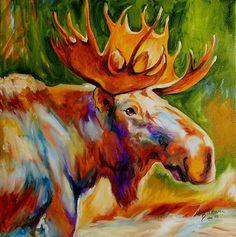 """Moose Study"" par Marcia Baldwin"