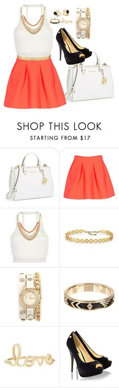 """""""New Classic"""" by sweetangell ❤ liked on Polyvore featuring MICHAEL Michael Kors, Kenzo, Pacha, St. John, Kate Spade, House of Harlow 1960, Sydney Evan, Blink, classic and pretty"""