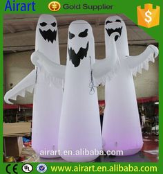 Halloween decorative inflatable products horrible inflatable ghost balloon