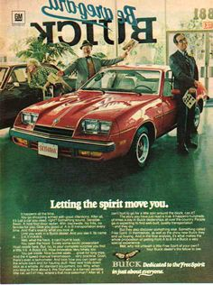 70s Car Ads   ... Trading: Buick 1976 Car Ad - Skyhawk - Red, Automobile - Buick Car Ads