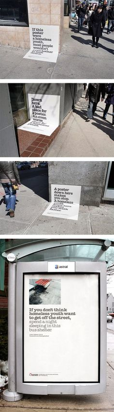 homeless, campaign