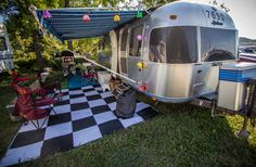 Move on in for a week! These fans have made themselves right at home. #ItsBristolBaby #Camping