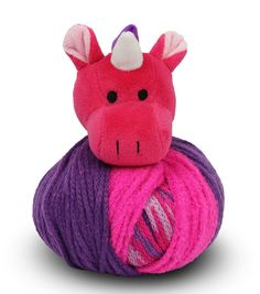 DIY Knit hat for kids - DMC Top This Unicorn Hat