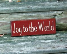 Hey, I found this really awesome Etsy listing at https://www.etsy.com/listing/114155545/joy-to-the-world-christmas-primitive