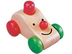 [Gogo Toys ゴーゴートーイズ]ジョジョ 安全性の高いドイツ製の水性塗料した、赤ちゃんの為の木製玩具です。