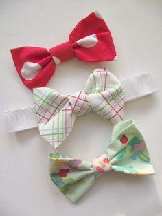 Live Love Create: No Sew Fabric Bow Tutorial ...