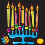Happy Chanukah - Activity For Kids from ActivityVillage.co.uk overview and printables
