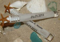 Beach Wedding Supplies- Bay Starfish-Topped Slim Bubbles -  set of 75 Tubes - Loving Coastal Living $75