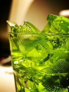 green jello