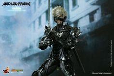 Metal Gear Solid Rising Revengeance (Raiden) Hot Toys Figur 1:6 Scale