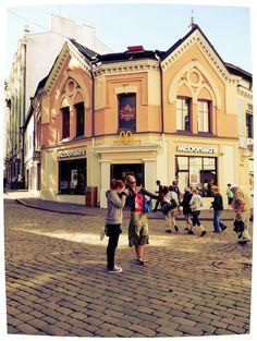 Tallinn (Estonia).  McDonald's in Viru.