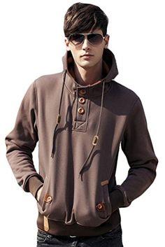 Minibee Men's Autumn Fashion Hoody with Pockets Coffee S Minibee http://www.amazon.com/dp/B015QP0P9O/ref=cm_sw_r_pi_dp_xZ0awb11Y8SQM