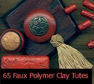 65 Faux Polymer Clay Techniques