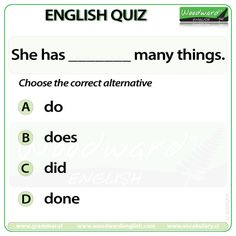 Woodward English Quiz 9 See more about the difference between Very, Too and… English Quiz, English Study, English Grammar, Teaching English, Learn English, English Language, Language Arts, Grammar Quiz, Grammar And Vocabulary