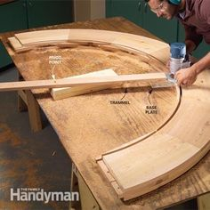 Advanced Router Techniques Routers are one of the most versatile woodworking tools, useful not just for making trim and cutting edges, but for solving a whole range of woodworking problems. Learn how to cut curves, straighten boards, flatten bows and much Router Jig, Router Woodworking, Learn Woodworking, Woodworking Techniques, Woodworking Crafts, Woodworking Jigsaw, Woodworking Furniture, Woodworking Workshop, Woodworking Patterns