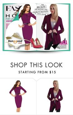 """""""BANGGOOD 3"""" by selmica11 ❤ liked on Polyvore featuring moda y Kate Spade"""