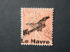 Local Frankreich WW II Occupation overprint Le Havre used