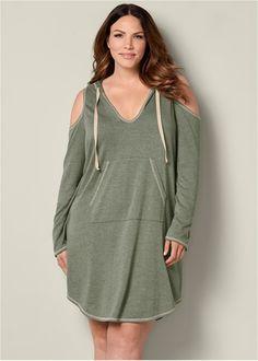 64ba9338f39 Cold shoulder lounge dress. Formal Dress ShopsPlus Size ...