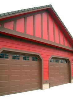 color matching garage door Carriage House Garage Doors, Garage Door Windows, Wooden Garage Doors, Overhead Garage Door, Carriage Doors, Garage Door Insulation Kit, Garage Door Repair, Garage Door Opener, Garage Door Decorative Hardware