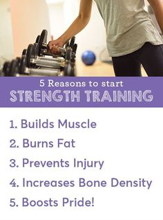 Strength Training: Build muscle, burn fat, and so much more! Increase Bone Density, Muscle Building Workouts, Anytime Fitness, Injury Prevention, Natural Medicine, Fitness Nutrition, Lose Fat, Build Muscle, Strength Training