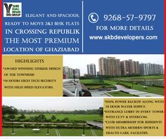 Best property in Ghaziabad Gold Coast is not just a Residential Project but a dream come true. No corner in your apartment has been left untouched to ensure a quality of life that will be a source of envy for others. The Project promises the dawn of a new lifestyle. Book your dream home today Call us – 9268-57-9797 Visit – www.skbdevelopers.com #Real_estate #Luxury_flats #Best_property #investment #NH-24 #SKBGroup