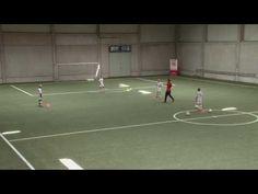 Technisch-Taktische Fussballübung:Dreieckbildung und Positionswechsel wie Pep Guardiola - YouTube
