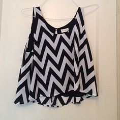 """Fifty Street"" printed crop top size L Not forever 21 but very similar, never worn! Forever 21 Tops Crop Tops"