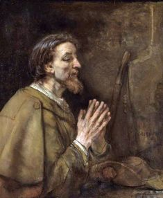 The Apostle James by Rembrandt, 1661