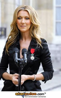 Celine Dion ...She has an amazing voice