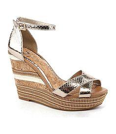 1eb48885d51 GB Gianni Bini TakeOff Wedge Sandals  Dillards Gianni Bini Shoes