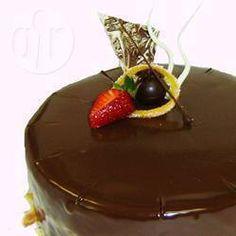 Chocolate ganache @ allrecipes.co.uk