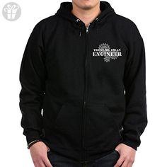 CafePress - Trust Me I'm An Engineer Zip Hoodie (dark) - Zip Hoodie, Classic Hooded Sweatshirt with Metal Zipper (*Amazon Partner-Link)