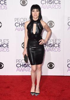 Pin for Later: Le Tapis Rouge des People's Choice Awards 2016 Était Plus Glam Que Jamais Carly Rae Jepson